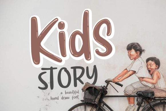 Download Free Kids Story Font By Olexstudio Creative Fabrica SVG Cut Files