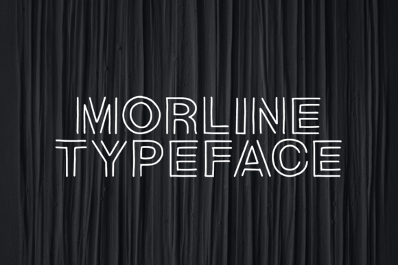 Print on Demand: Morline Display Font By Martype.Co