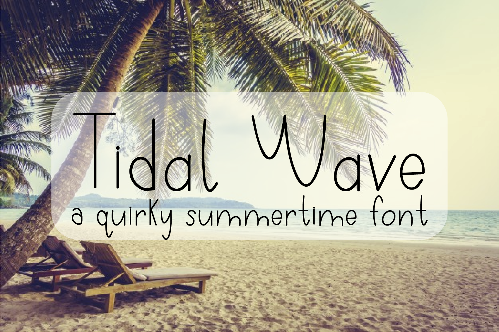 Download Free Tidal Wave Font By Sheryl Holst Creative Fabrica for Cricut Explore, Silhouette and other cutting machines.