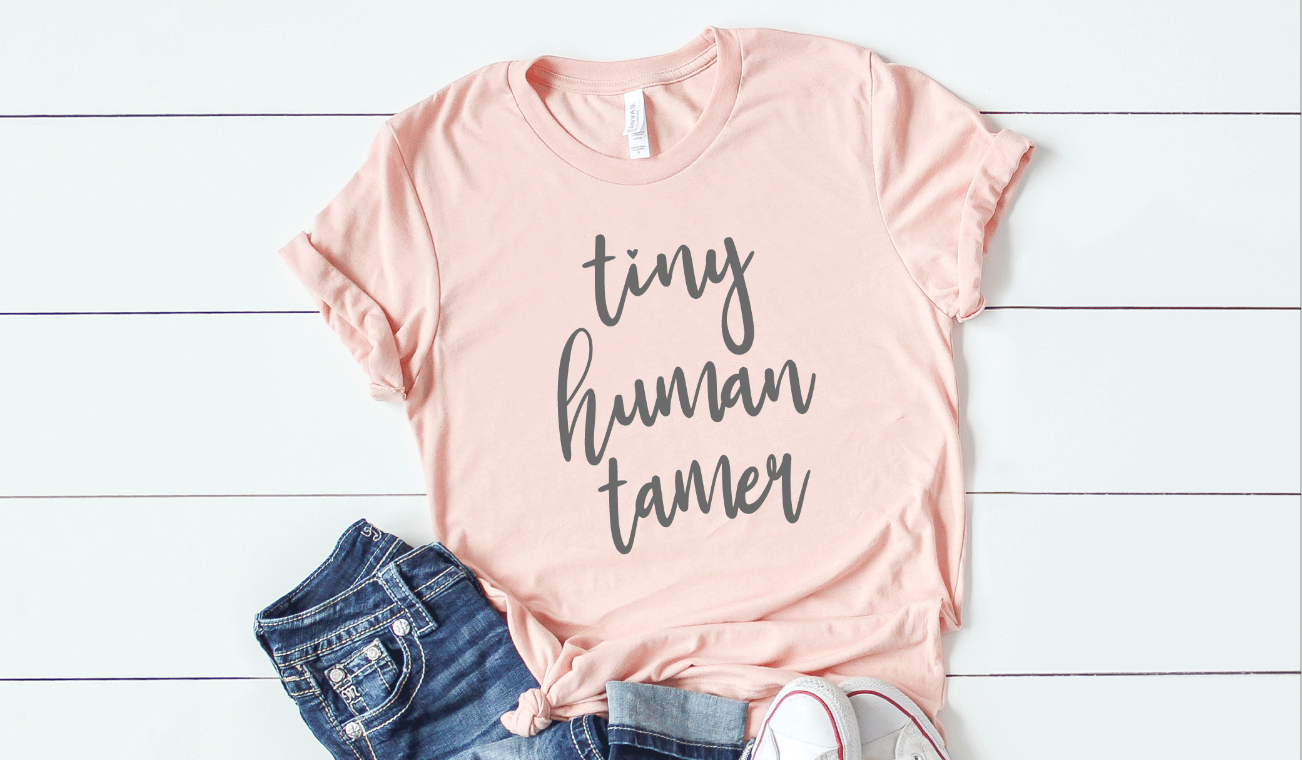 Download Free Tiny Human Tamer Grafik Von Svgmamashop Creative Fabrica for Cricut Explore, Silhouette and other cutting machines.