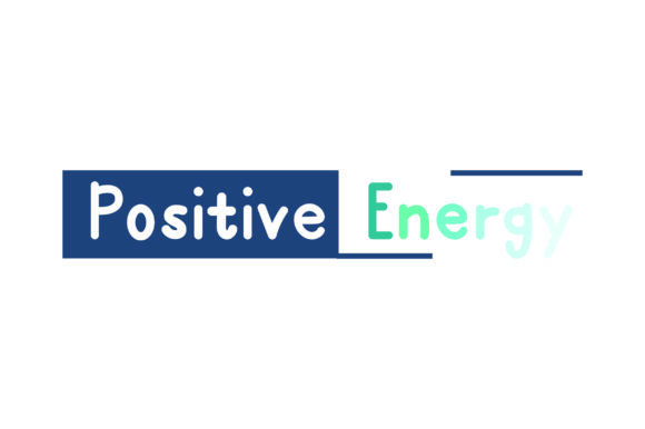 Positive Energy Motivational Craft Cut File By Creative Fabrica Crafts