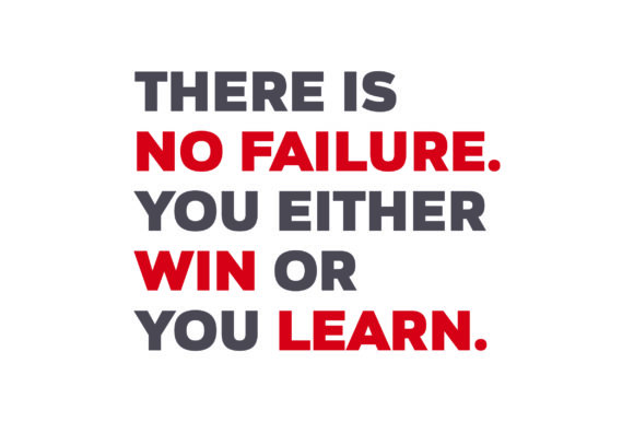 Download Free There Is No Failure You Either Win Or You Learn Svg Cut File for Cricut Explore, Silhouette and other cutting machines.