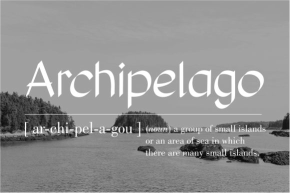 Download Free Archipelago Font By Konsepta Studio Creative Fabrica for Cricut Explore, Silhouette and other cutting machines.