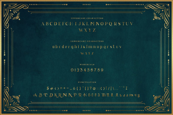 Print on Demand: Bagiewise Serif Font By naulicrea - Image 2