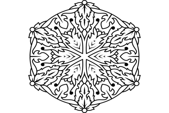 Print on Demand: Beautiful Mandala Design 217 Graphic Coloring Pages & Books Adults By ermannofficial