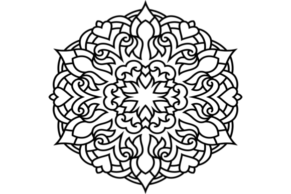Print on Demand: Beautiful Mandala Design 220 Graphic Coloring Pages & Books Adults By ermannofficial