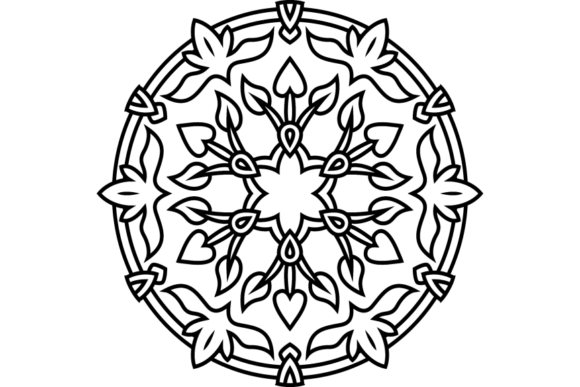Print on Demand: Beautiful Mandala Design 224 Graphic Coloring Pages & Books Adults By ermannofficial