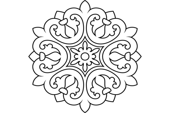 Print on Demand: Beautiful Mandala Design 231 Graphic Coloring Pages & Books Adults By ermannofficial