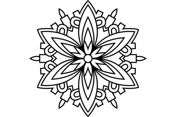 Print on Demand: Beautiful Mandala Design 235 Graphic Coloring Pages & Books Adults By ermannofficial