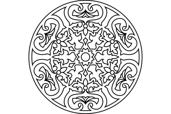 Print on Demand: Beautiful Mandala Design 237 Graphic Coloring Pages & Books Adults By ermannofficial