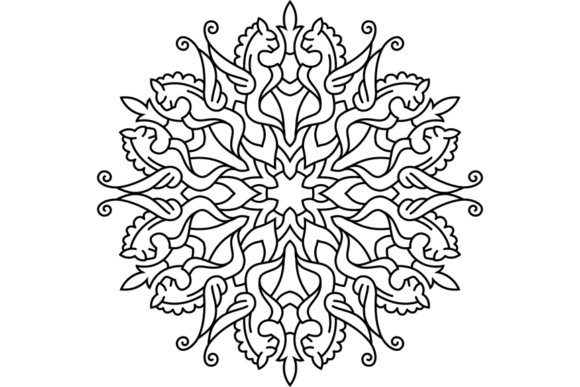 Print on Demand: Beautiful Mandala Design 238 Graphic Coloring Pages & Books Adults By ermannofficial