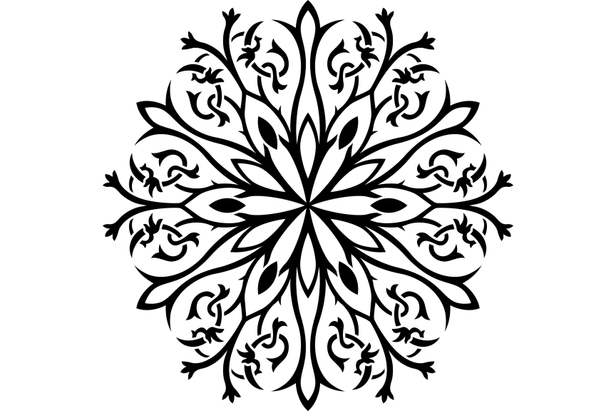 Download Free Beautiful Mandala Design 245 Graphic By Ermannofficial for Cricut Explore, Silhouette and other cutting machines.