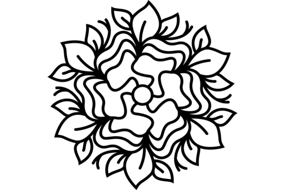 Print on Demand: Beautiful Mandala Design 251 Graphic Coloring Pages & Books Adults By ermannofficial