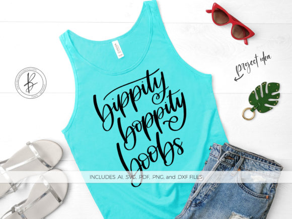 Download Free Bippity Boppity Boobs Graphic By Beckmccormick Creative Fabrica for Cricut Explore, Silhouette and other cutting machines.