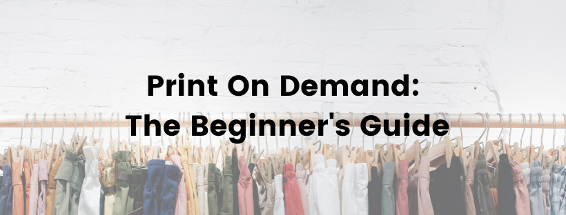 Download Free Print On Demand The Beginner S Guide Creative Fabrica for Cricut Explore, Silhouette and other cutting machines.