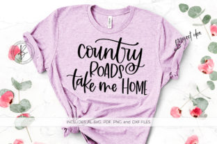 Print on Demand: Country Roads Take Me Home Graphic Crafts By BeckMcCormick