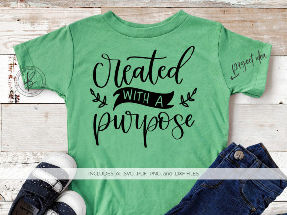 Download Free Created With A Purpose Graphic By Beckmccormick Creative Fabrica for Cricut Explore, Silhouette and other cutting machines.