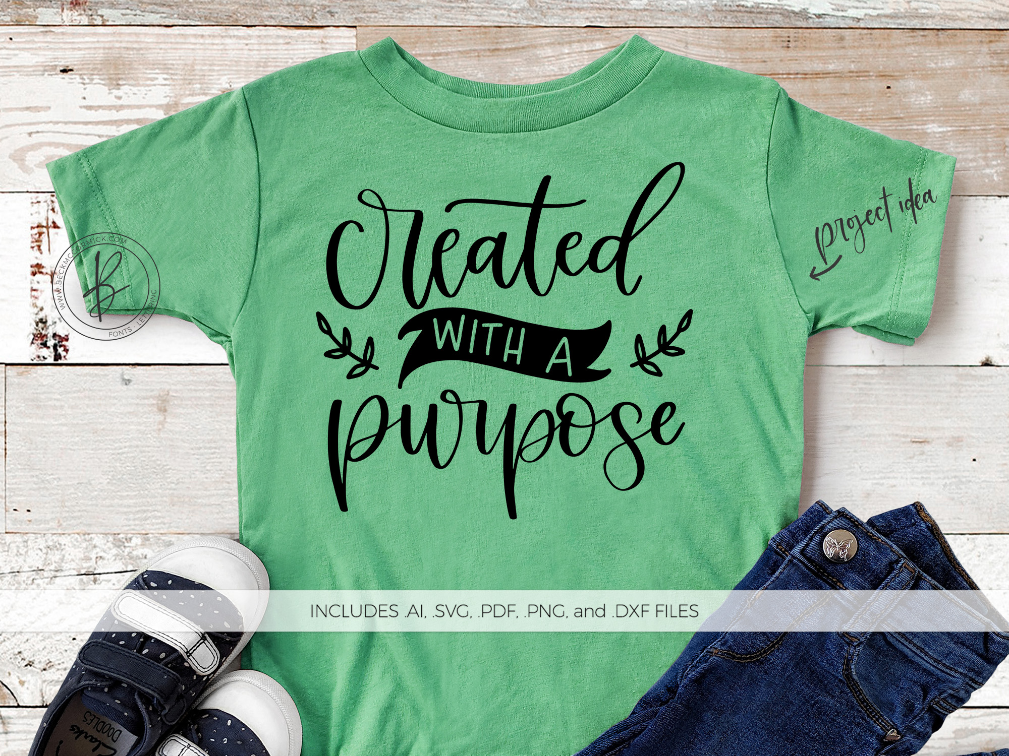 Download Free Created With A Purpose Graphic By Beckmccormick Creative Fabrica SVG Cut Files