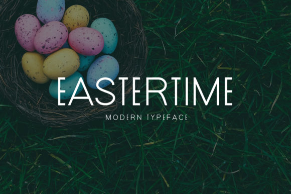 Print on Demand: Eastertime Display Font By MSB