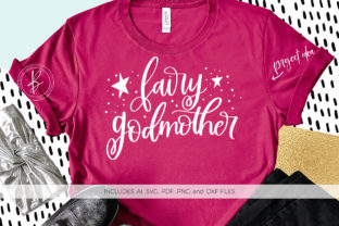 Download Free Fairy Godmother Graphic By Beckmccormick Creative Fabrica for Cricut Explore, Silhouette and other cutting machines.