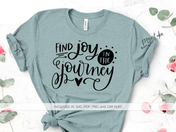 Print on Demand: Find Joy in the Journey Graphic Crafts By BeckMcCormick