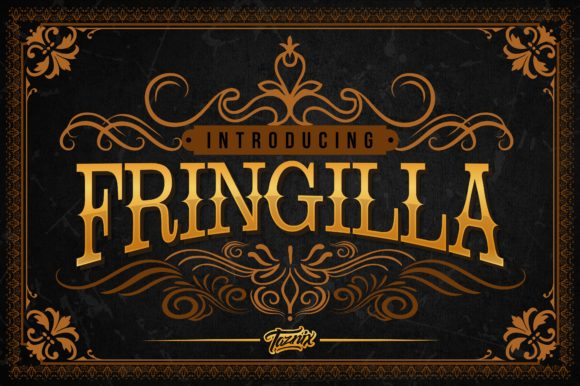 Print on Demand: Fringilla Serif Font By taznixart