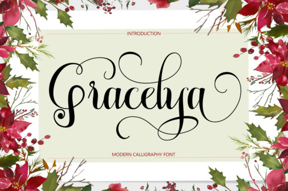 Print on Demand: Gracelya Script & Handwritten Font By Shape Studio