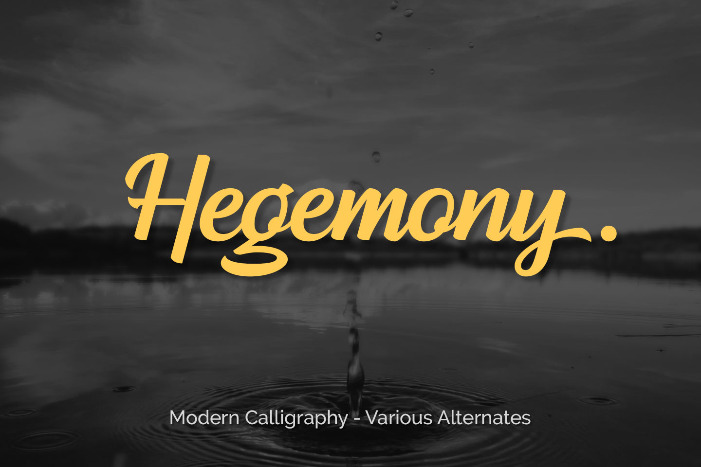 Download Free Hegemony Font By Akarija Studio Creative Fabrica for Cricut Explore, Silhouette and other cutting machines.