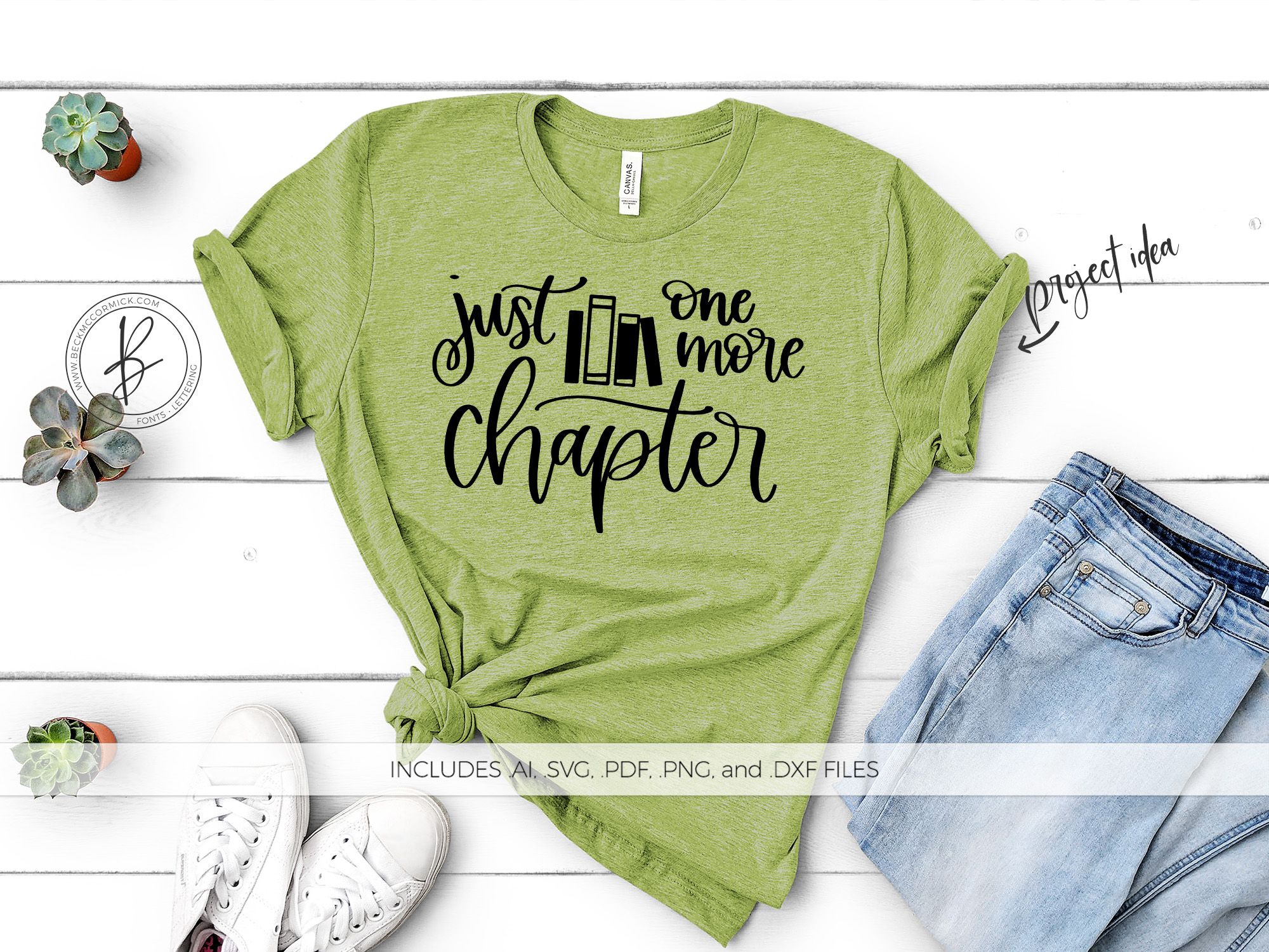 Download Free Just One More Chapter Graphic By Beckmccormick Creative Fabrica for Cricut Explore, Silhouette and other cutting machines.