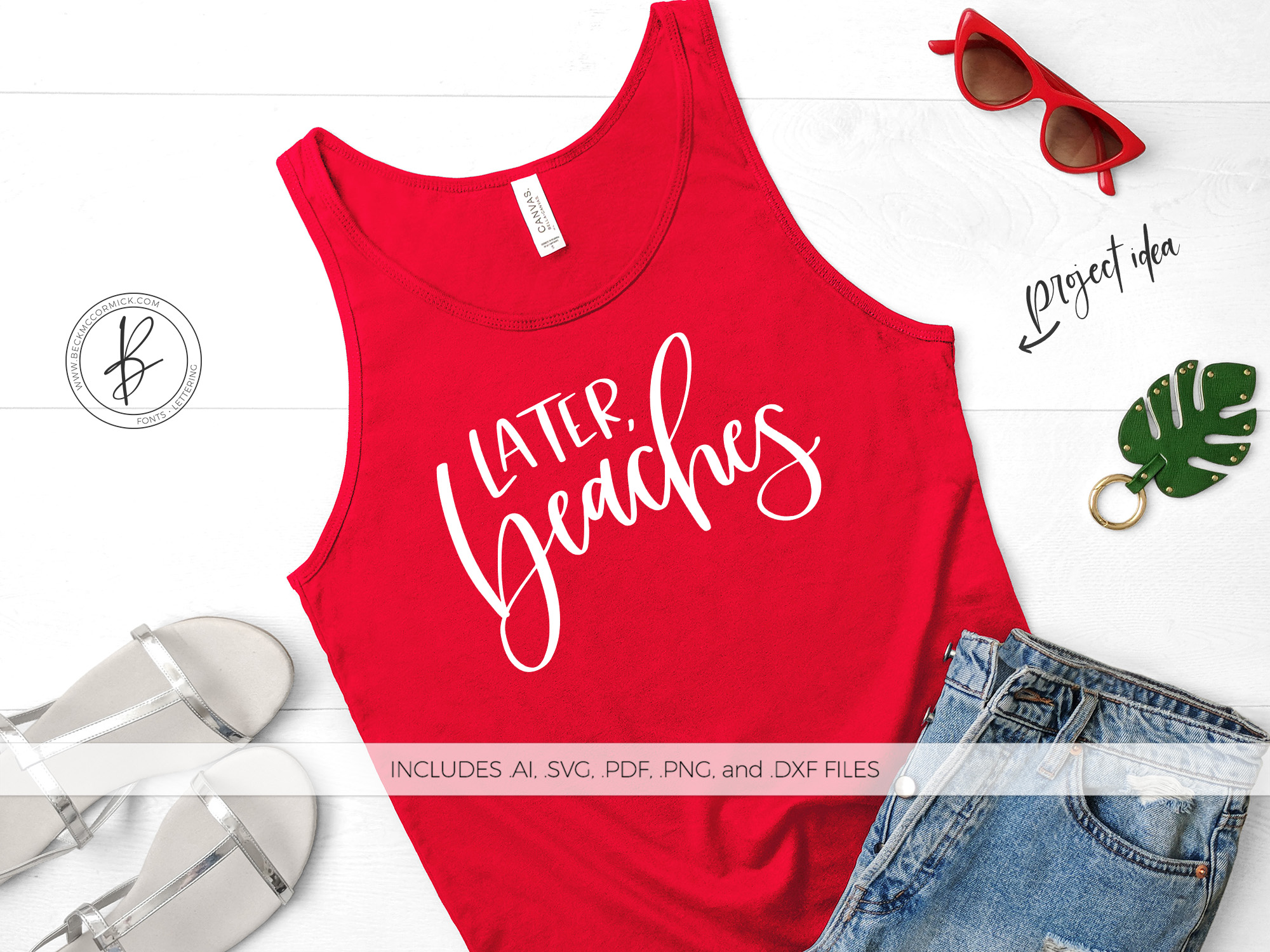 Download Free Later Beaches Graphic By Beckmccormick Creative Fabrica for Cricut Explore, Silhouette and other cutting machines.