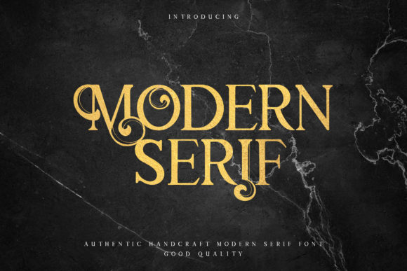 Download Free Modern Serif Font By Naulicrea Creative Fabrica for Cricut Explore, Silhouette and other cutting machines.