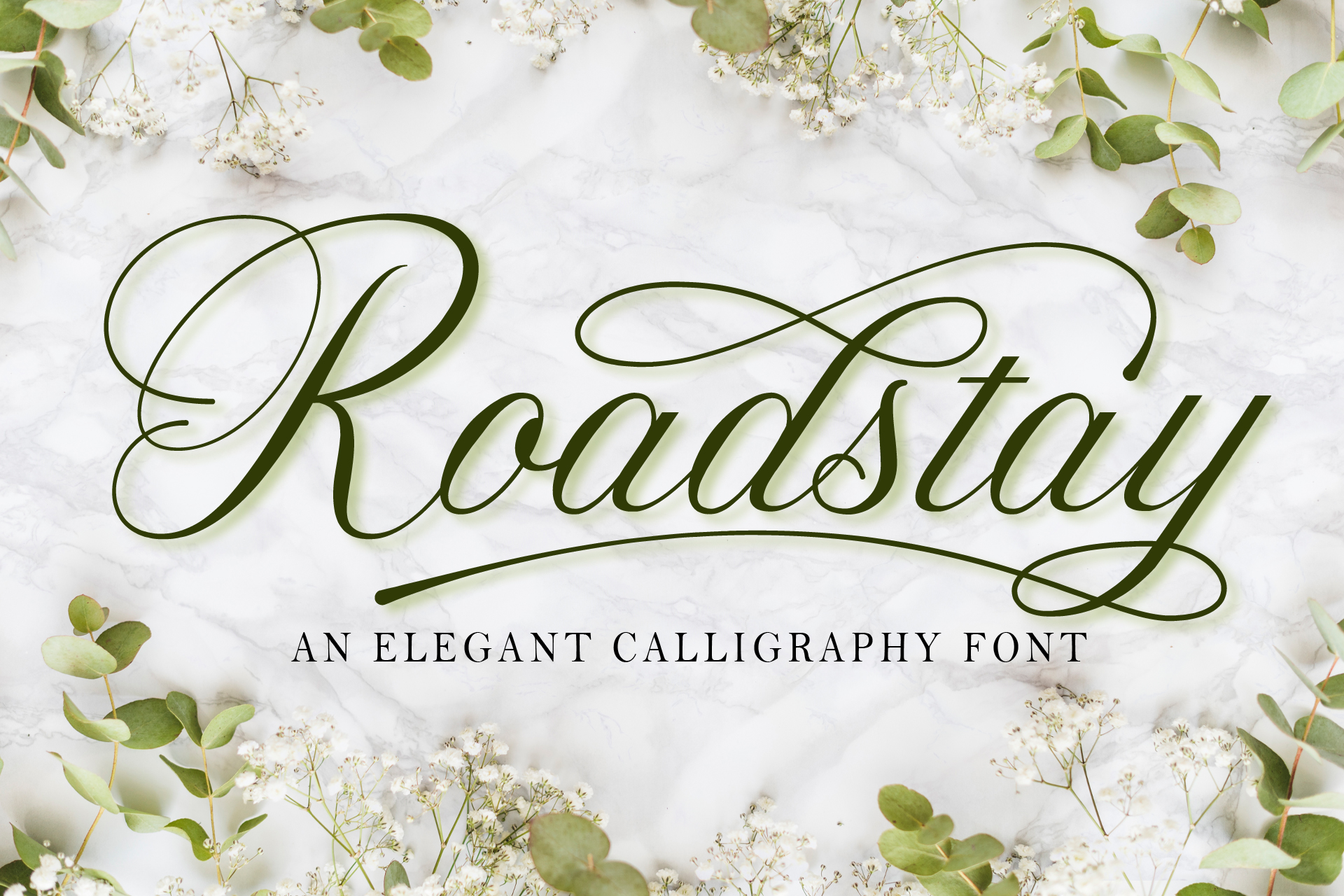Download Free Roadstay Font By Doehantz Studio Creative Fabrica for Cricut Explore, Silhouette and other cutting machines.