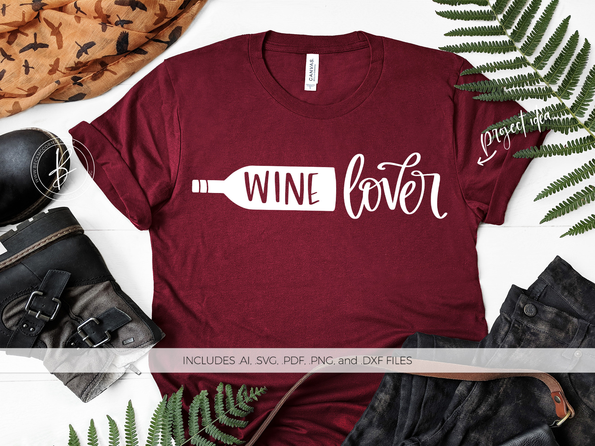 Download Free Wine Lover Grafico Por Beckmccormick Creative Fabrica for Cricut Explore, Silhouette and other cutting machines.