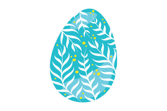 Painted Easter Egg Easter Craft Cut File By Creative Fabrica Crafts - Image 1
