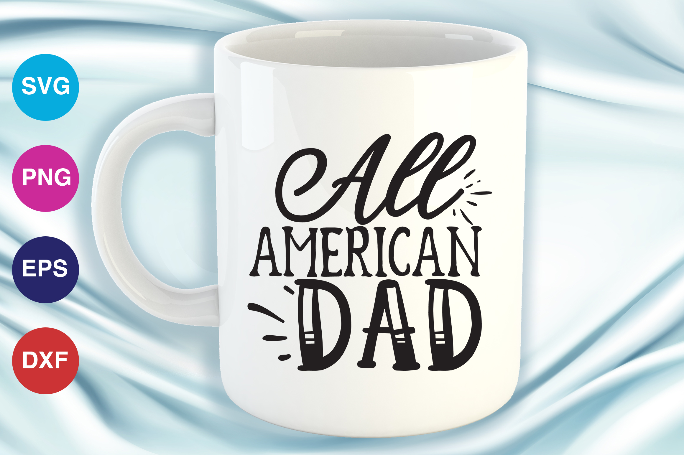 Download Free All American Dad Grafico Por Orindesign Creative Fabrica for Cricut Explore, Silhouette and other cutting machines.