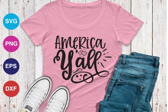 Print on Demand: America Y'all Graphic Crafts By OrinDesign