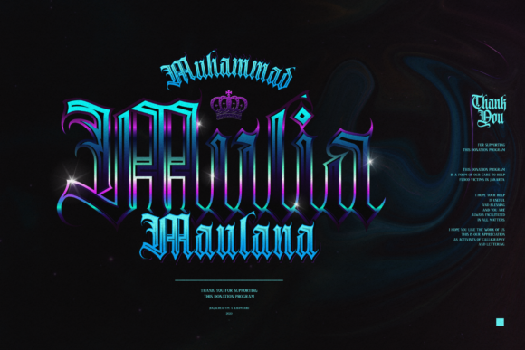 Print on Demand: Avestrava Tattoo Blackletter Font By ilhamtaro - Image 2