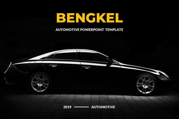 Bengkel PowerPoint Template Graphic Presentation Templates By kokank13
