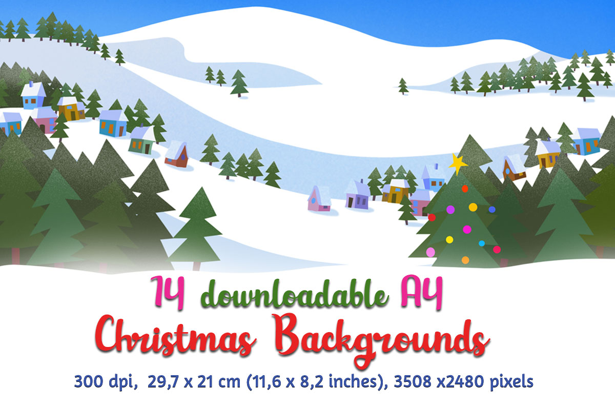 Download Free Christmas Backgrounds Graphic By Animaddesign Creative Fabrica for Cricut Explore, Silhouette and other cutting machines.