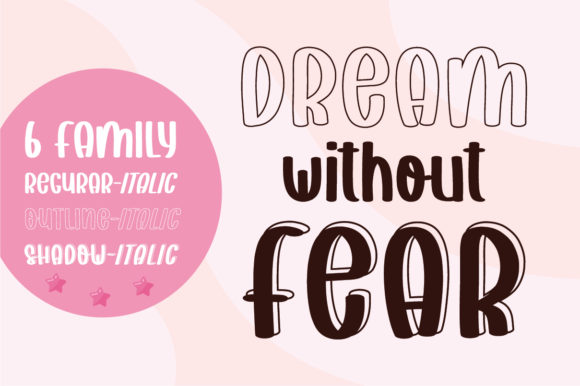 Print on Demand: Dream Without Fear Script & Handwritten Font By bitongphoto