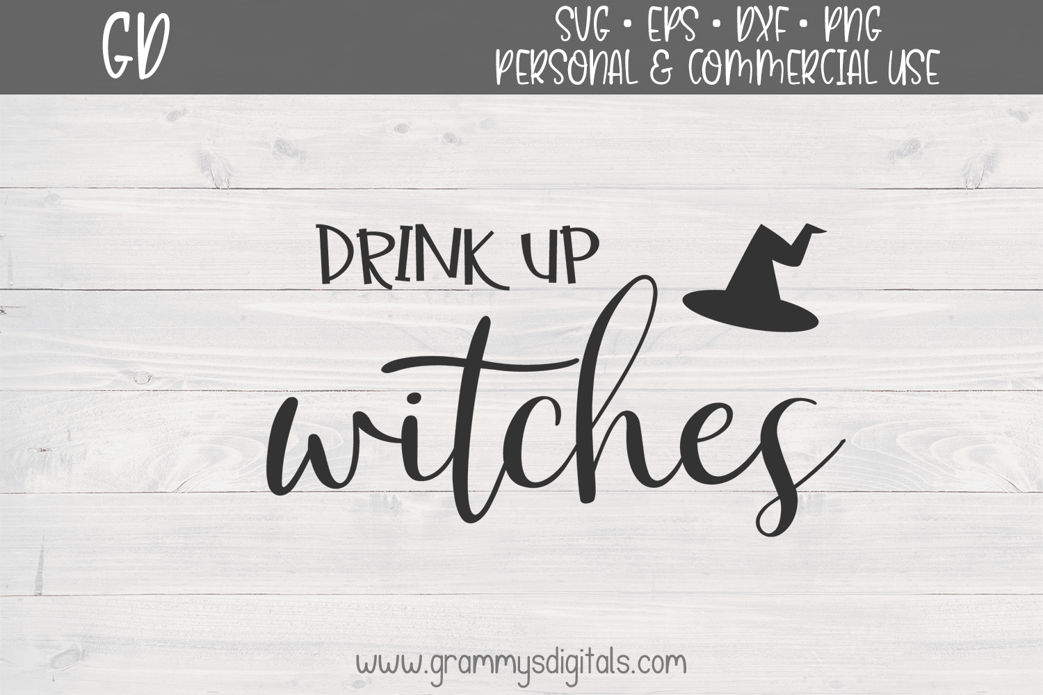 Download Free Drink Up Witches Graphic By Grammy S Digitals Creative Fabrica SVG Cut Files