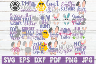 Easter Bundle Graphic Crafts By MintyMarshmallows