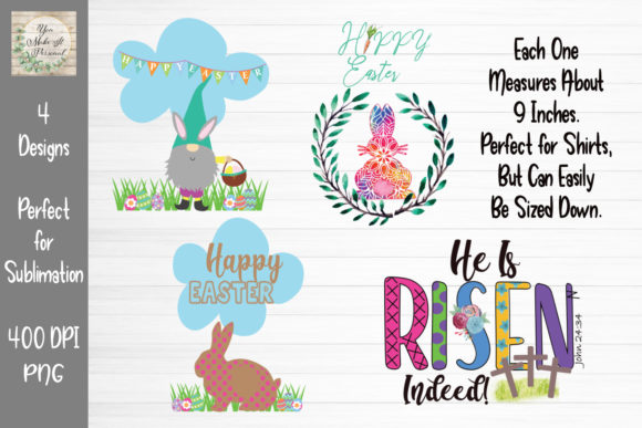 Print on Demand: Easter Bundle Graphic Print Templates By You Make It Personal