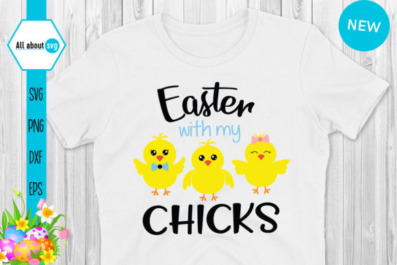 Download Free Easter Chicks Bundle Graphic By All About Svg Creative Fabrica for Cricut Explore, Silhouette and other cutting machines.
