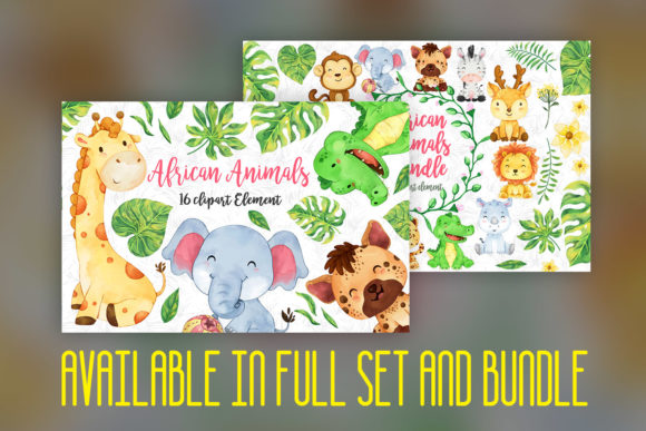 Print on Demand: Elephant Nursery Decor Graphic Illustrations By accaliadigital - Image 5