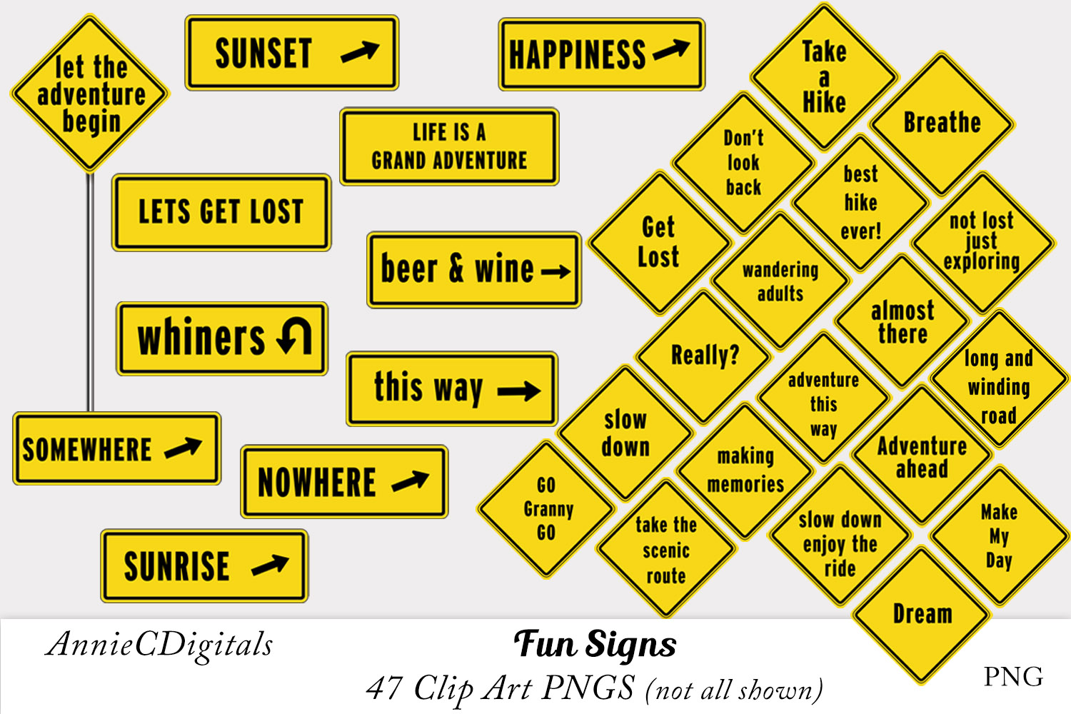 Download Free Fun Road Signs Talk Signs Street Signs Graphic By for Cricut Explore, Silhouette and other cutting machines.