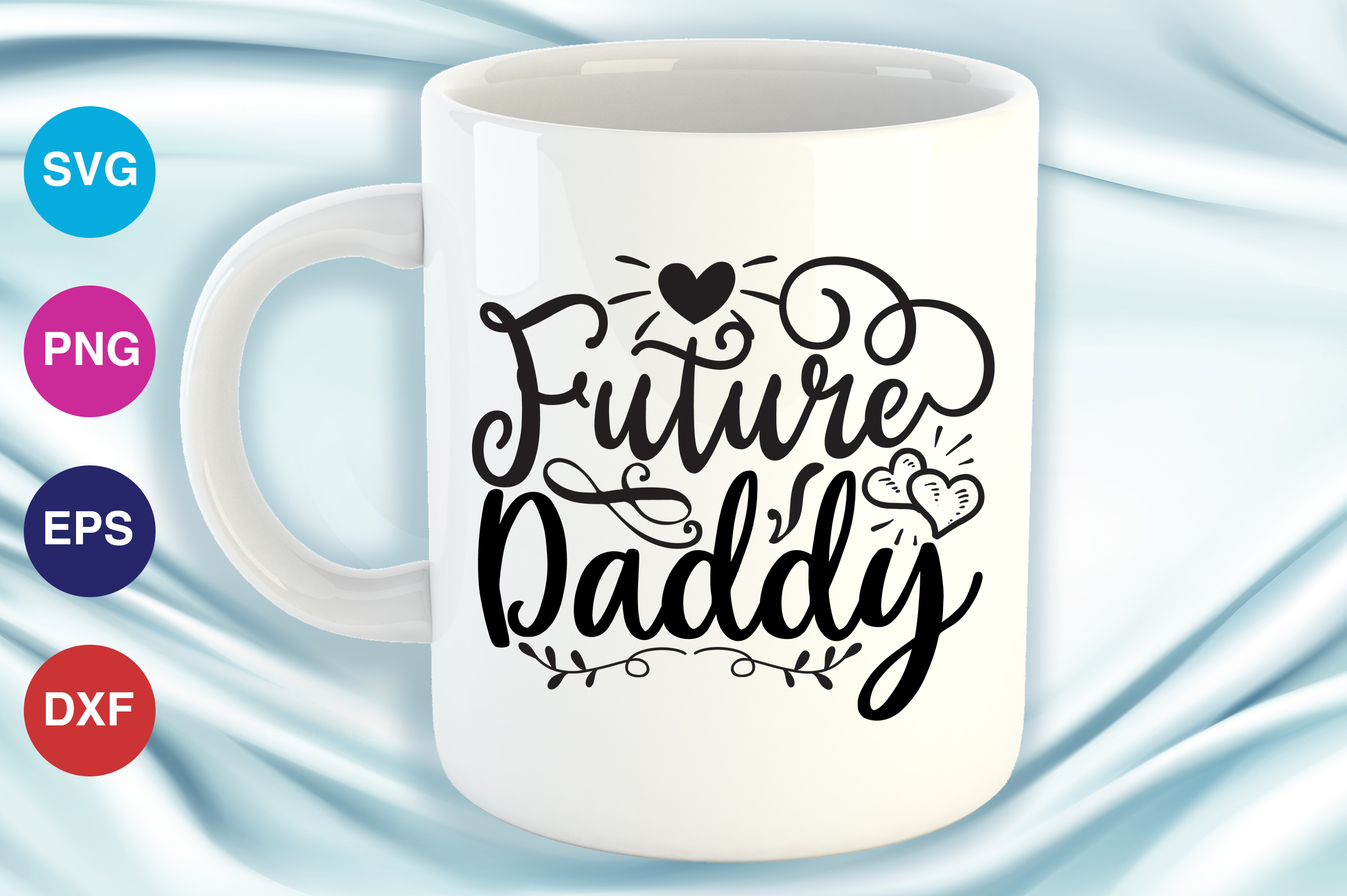 Download Free Future Daddy Graphic By Orindesign Creative Fabrica for Cricut Explore, Silhouette and other cutting machines.