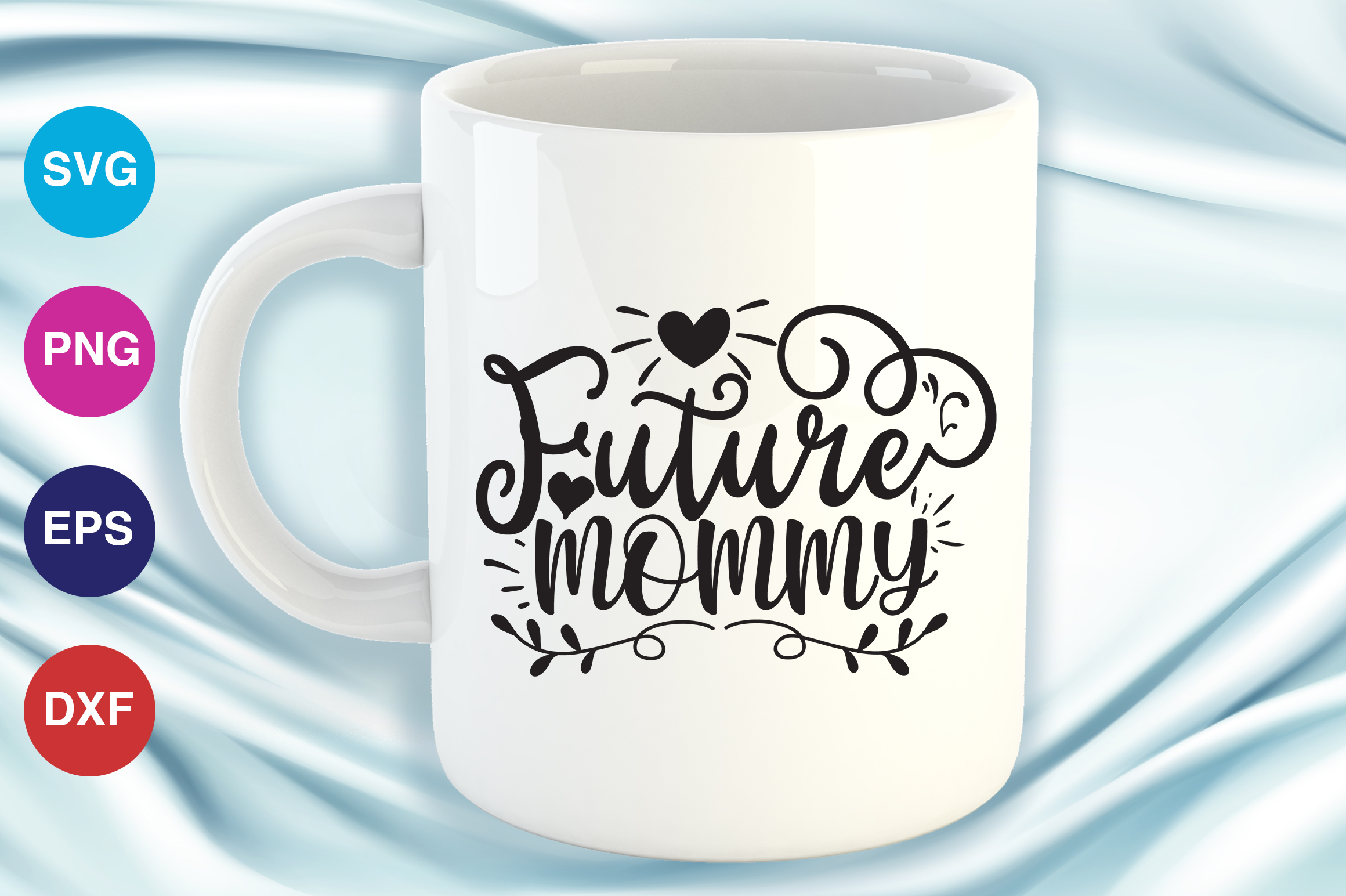 Download Free Future Mommy Graphic By Orindesign Creative Fabrica for Cricut Explore, Silhouette and other cutting machines.