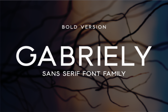 Print on Demand: Gabriely Bold Sans Serif Font By Huntype