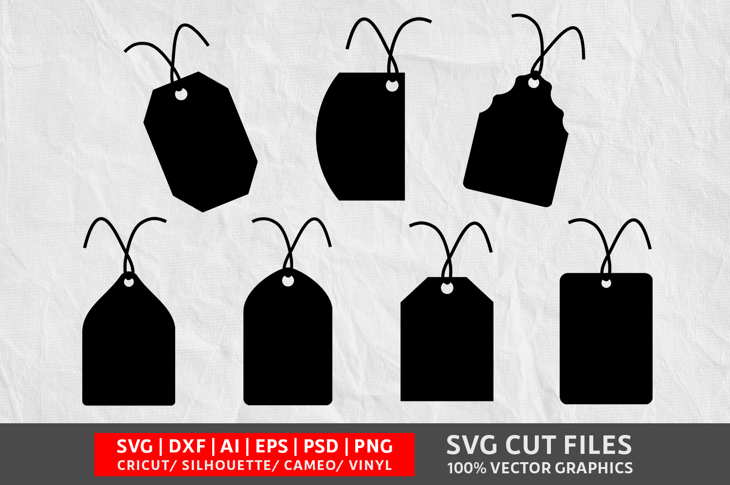 Download Free Gift Tag Image Graphic By Design Palace Creative Fabrica for Cricut Explore, Silhouette and other cutting machines.